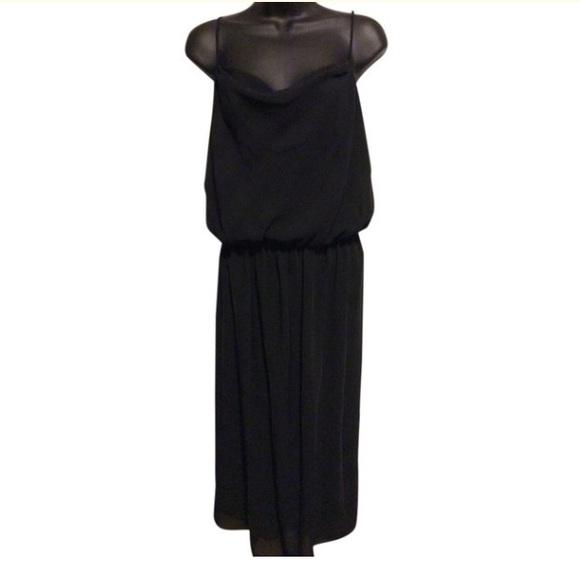 Alison Peters Dresses & Skirts - Alison Peters Vintage Black Sheer Dress